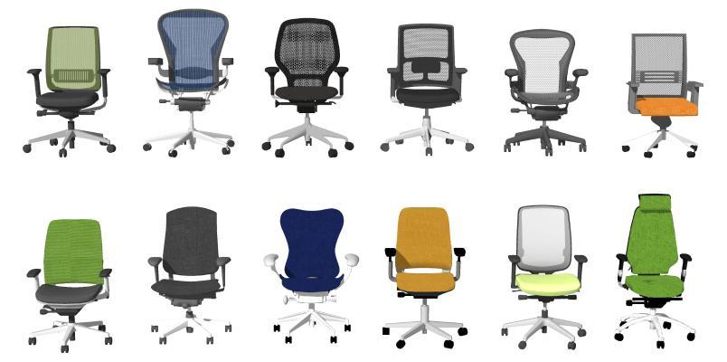 现代办公椅 电脑椅 会议椅