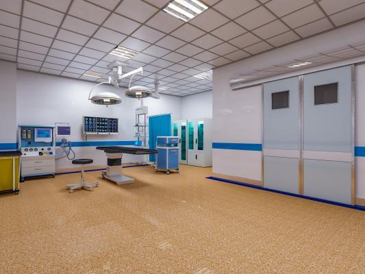 现代医院 检查室