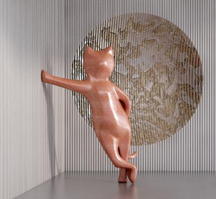 現代雕塑摆件