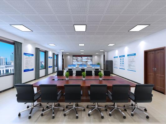 现代指挥中心 会议桌