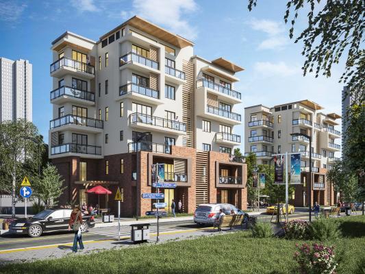 现代住宅区