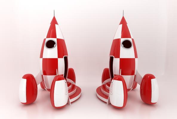 現代風格玩具