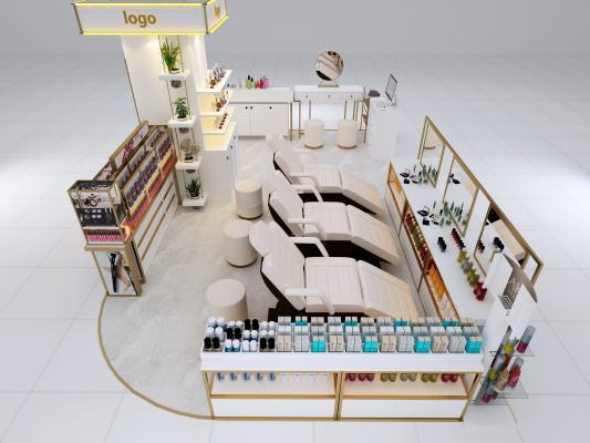 现代美容店