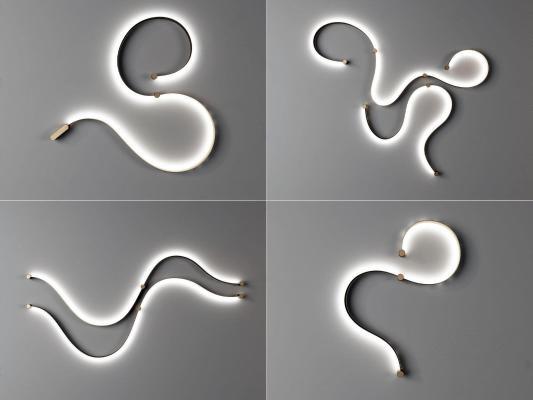 现代异形壁灯