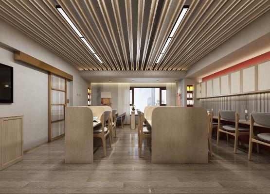 新中式图书馆 阅览室