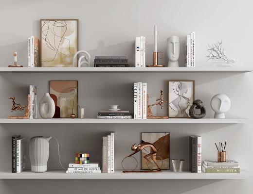 現代飾品擺件,書籍書本,工藝品擺件