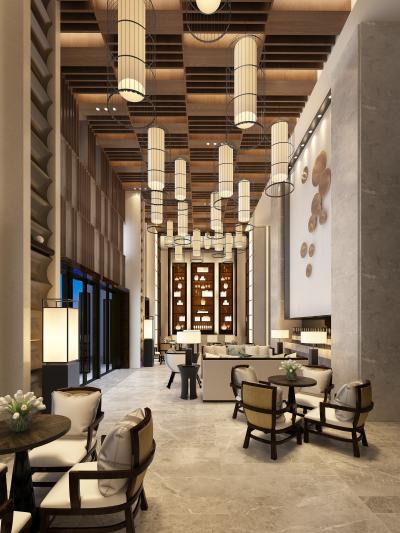 东南亚酒店大厅