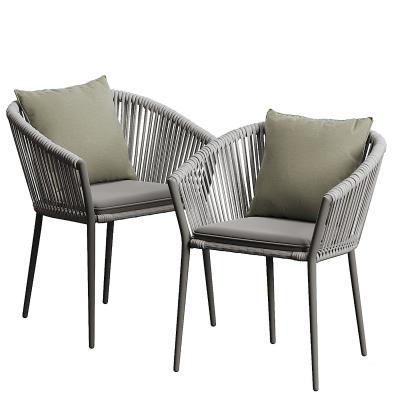 现代编织餐椅