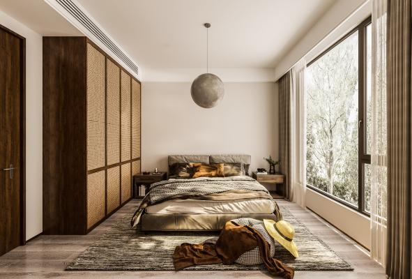 东南亚民宿 卧室
