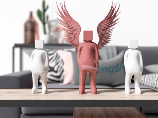 现代创意人物雕塑摆件