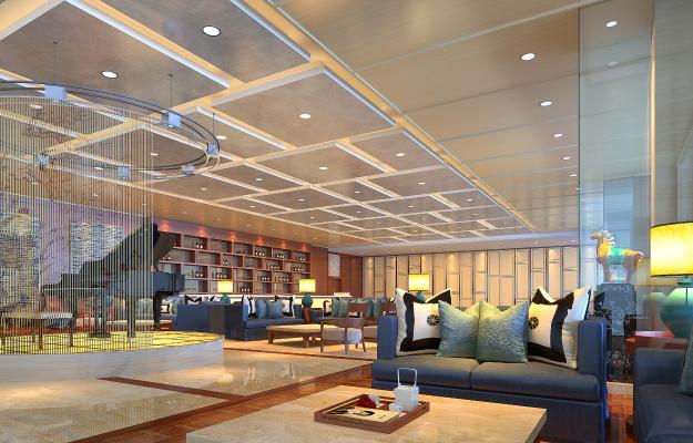 新中式机场酒店 休息吧