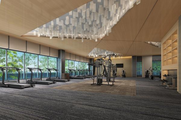 现代健身房