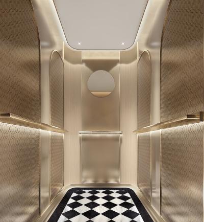 现代电梯轿厢