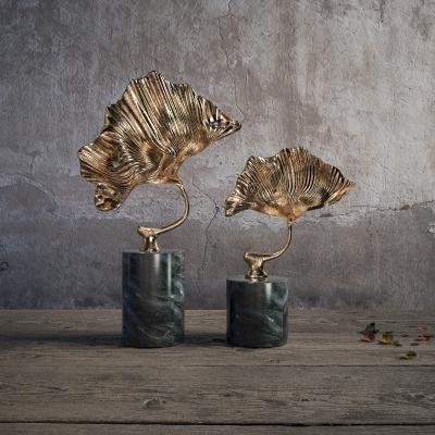 新中式叶子装饰摆件