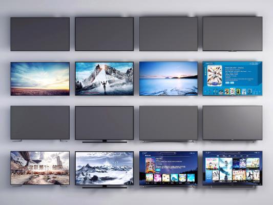 现代电视机 液晶电视