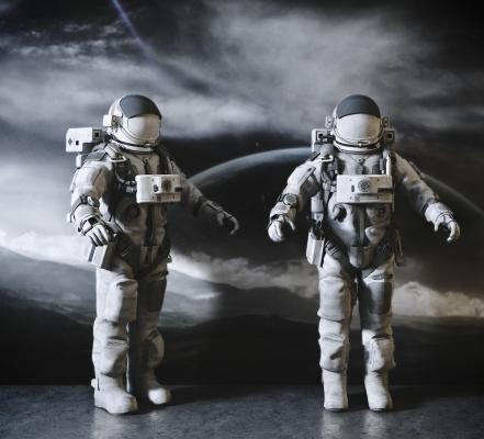 现代太空宇航员人物