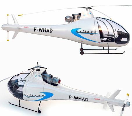 现代直升飞机