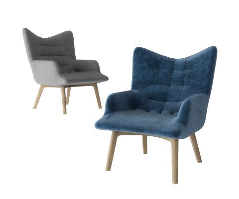 现代简约休闲沙发椅 休闲椅 扶手休闲椅