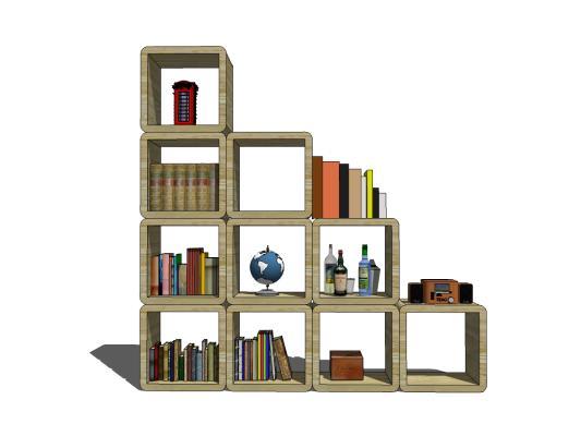 现代书架 书柜