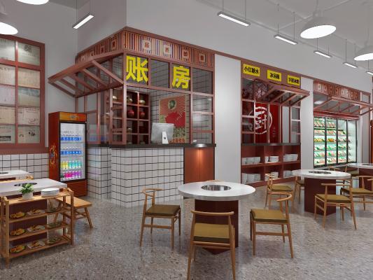 现代火锅店
