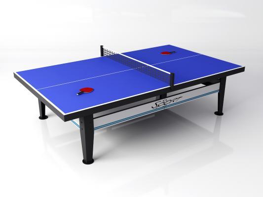 现代乒乓球桌 乒乓球拍 体育用品