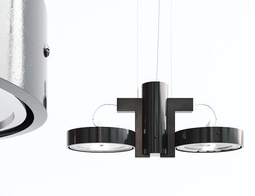 现代黑色吊灯