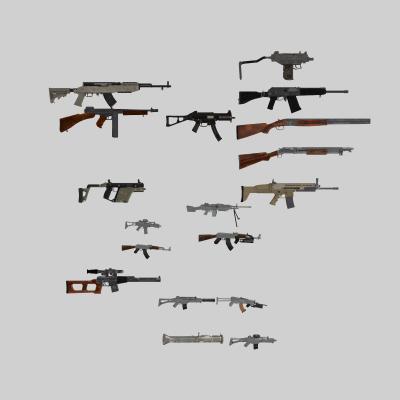 现代军事 各种枪 枪械