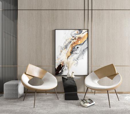 现代单椅 沙发椅