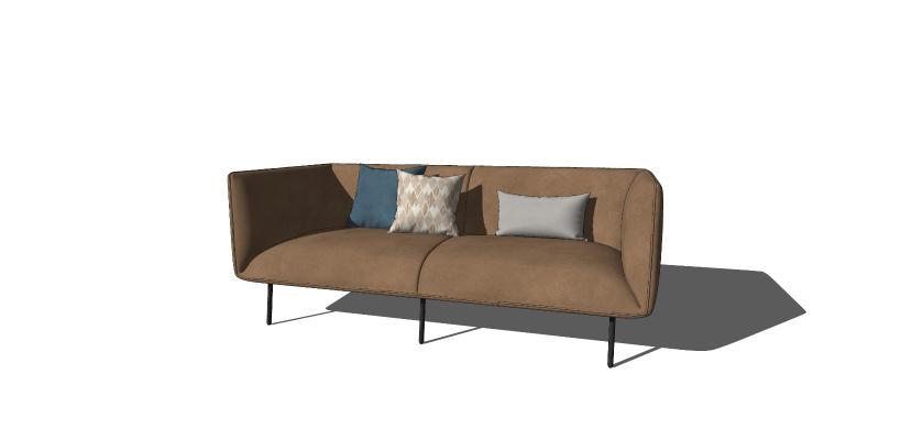 現代雙人沙發