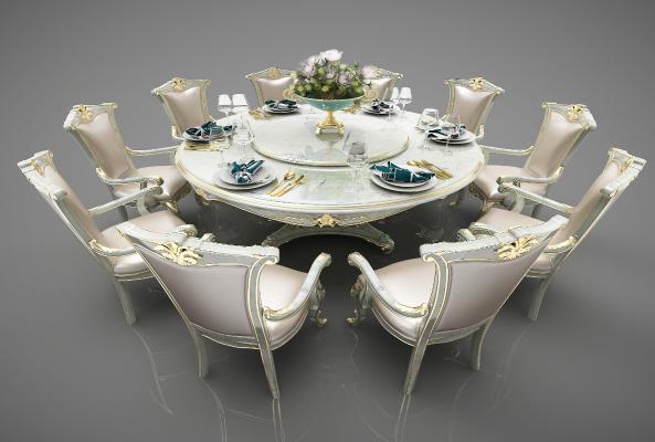 �W式�L格餐桌