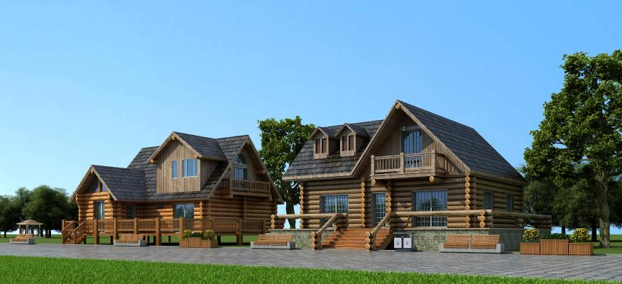現代生態度假木屋 樹屋建筑