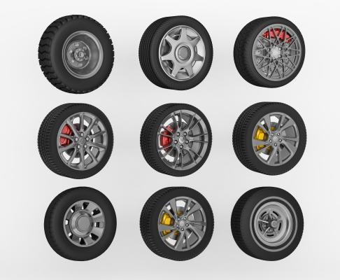 现代轮胎 轮毂