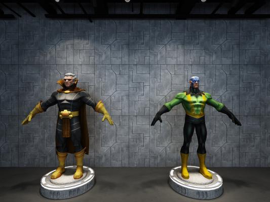 现代游戏人物 漫威DC英雄