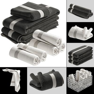 现代毛巾毛毯浴巾