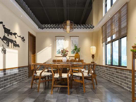 新中式饭店