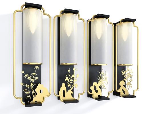 新中式風格壁燈