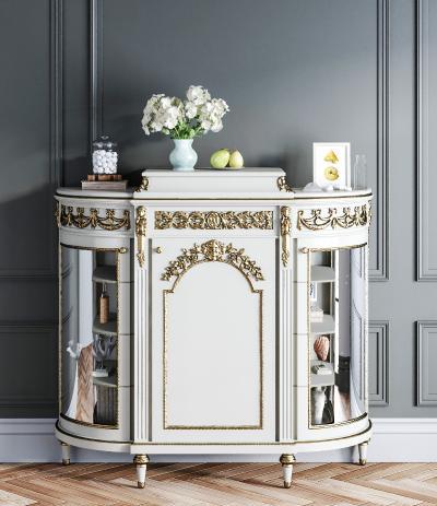 欧式古典古董柜