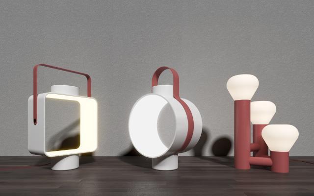 北欧台灯 创意灯具