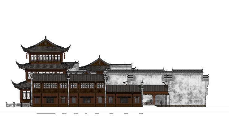 中式风格古建筑