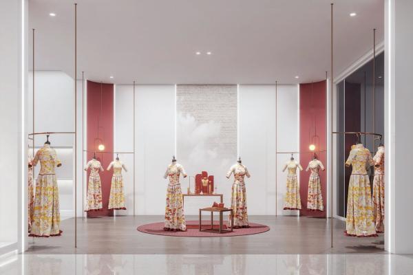 新中式婚纱店