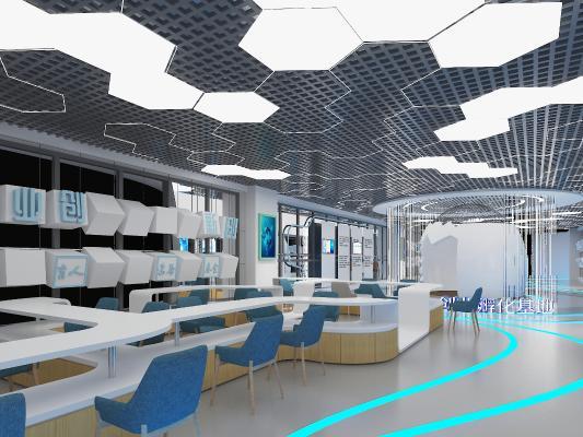 现代科技展厅 展柜