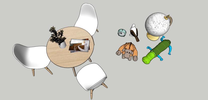 现代风格儿童玩具 休闲椅
