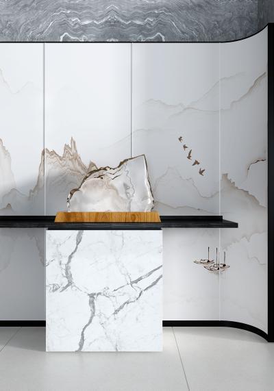 新中式山脈雕塑 擺件 擺臺
