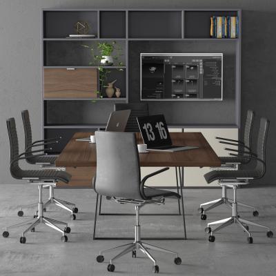 现代办公室办公桌椅
