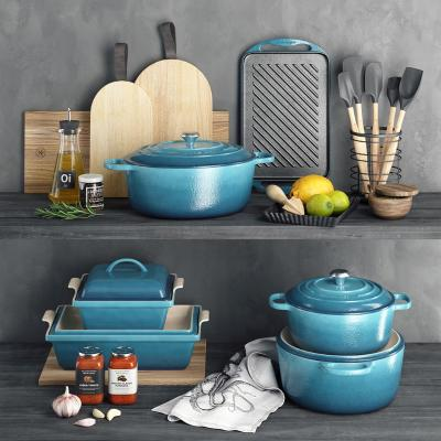 现代厨具 厨房用品 锅