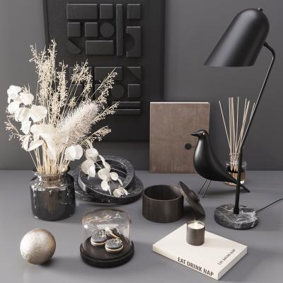 现代饰品摆件 花瓶 台灯