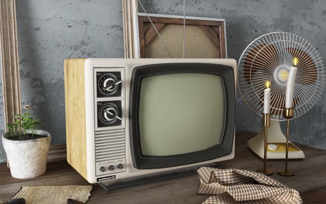现代电视机 电风扇