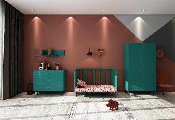 现代柜子 鞋柜 边柜 装饰柜 婴儿床