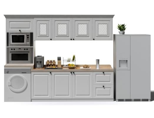 歐式簡約廚房櫥柜 廚具 櫥柜
