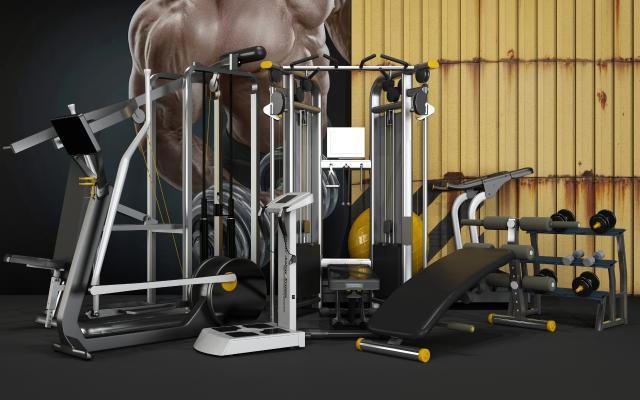 现代运动器材 健身器材 体育器材